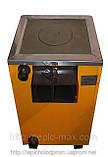 Котёл 10П «Огонек» Сталь 4 мм для твёрдого топлива с варочной чугунной плитой., фото 3