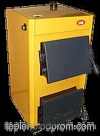 Купить Котёл для твёрдого топлива КОТВ-18 кВт. Сталь 3мм. Печь на дровах угле и др. ОГОНЁК СМЗ