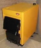 Котёл ОГОНЁК 18 Д (для дров) Дровяной котел удлиненный на 18 кВт. Сталь 4 мм. Печь для дома и др. помещений., фото 2