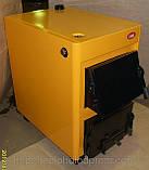 Котёл ОГОНЁК 18 Д (для дров) Дровяной котел удлиненный на 18 кВт. Сталь 4 мм. Печь для дома и др. помещений., фото 3