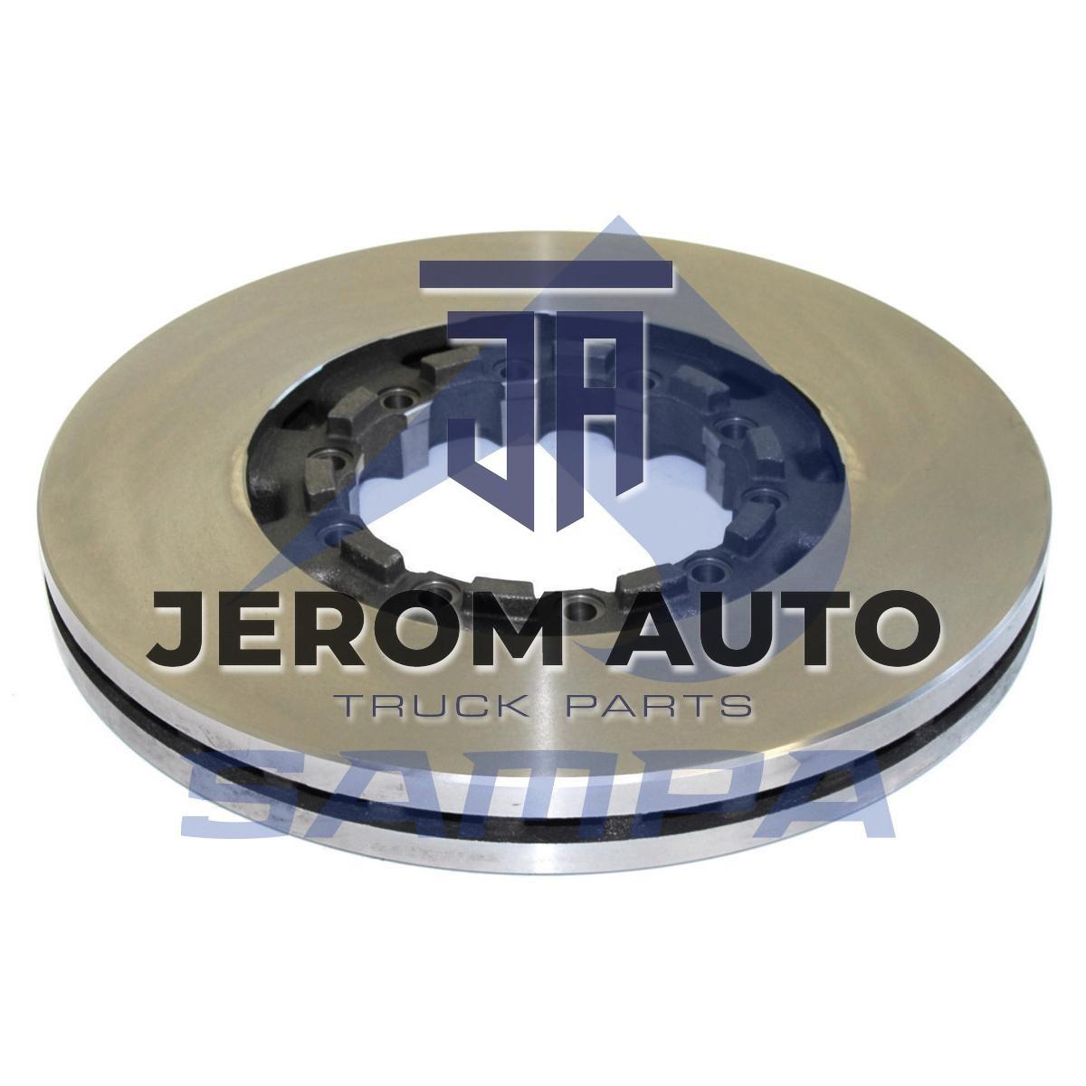Диск тормозной SAF (430x160x45 n10x13.5) (1шт.)/ 075.158/ 4079001301