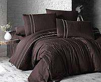 Комплект постельного белья Deluxe Satin Stripe Style Cicolata First Choice Евро размер