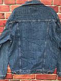 Модный мужской джинсовая Куртка больших размеров, фото 2