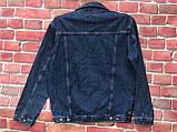 Модный мужской джинсовая Куртка больших размеров, фото 4