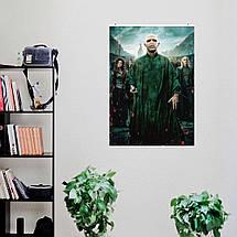 "Постер ""Волан-де-Морт. Гарри Поттер и Дары Смерти"". Размер 60x43см (A2). Глянцевая бумага, фото 3"