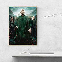 "Постер ""Волан-де-Морт. Гарри Поттер и Дары Смерти"". Размер 60x43см (A2). Глянцевая бумага, фото 2"