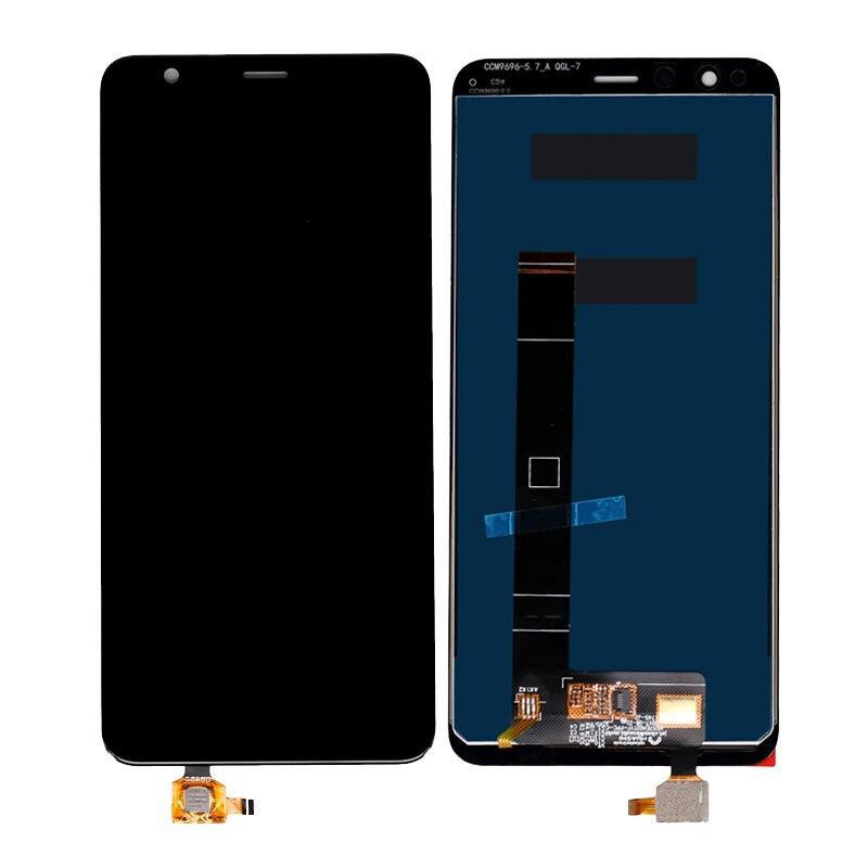 Дисплей (LCD) Asus Zenfone Max Plus (M1) | ZB570TL | X018D | X018DC с тачскрином, черный, оригинал (PRC)