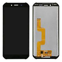 Дисплей (LCD) Doogee S40 (5,5) з тачкрином, чорний