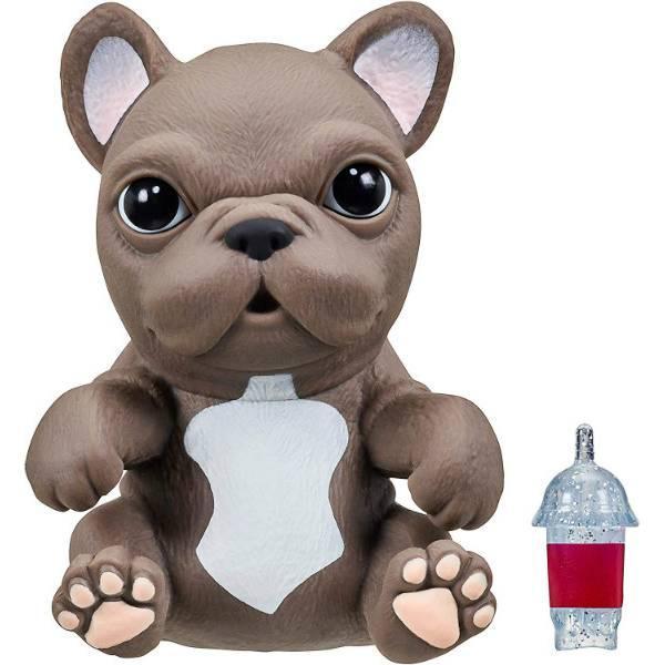 Little Live Pets OMG Интерактивный щенок собачка сквиш Французский бульдог 26096 French Bulldog Squishy Puppy