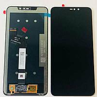 Дисплей (LCD) Xiaomi Redmi Note 6 Pro с тачкрином, чёрный оригинал (PRC)