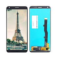 Дисплей (LCD) ZTE A530 Blade | A606 Blade с тачкрином, черный