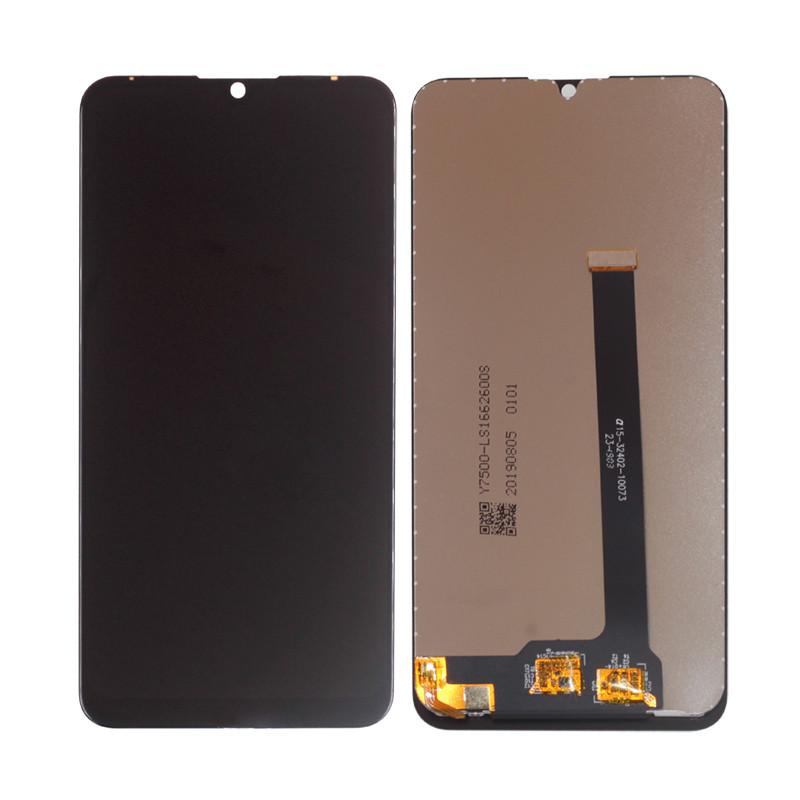 Дисплей (LCD) ZTE Blade V10 с тачкрином, черный