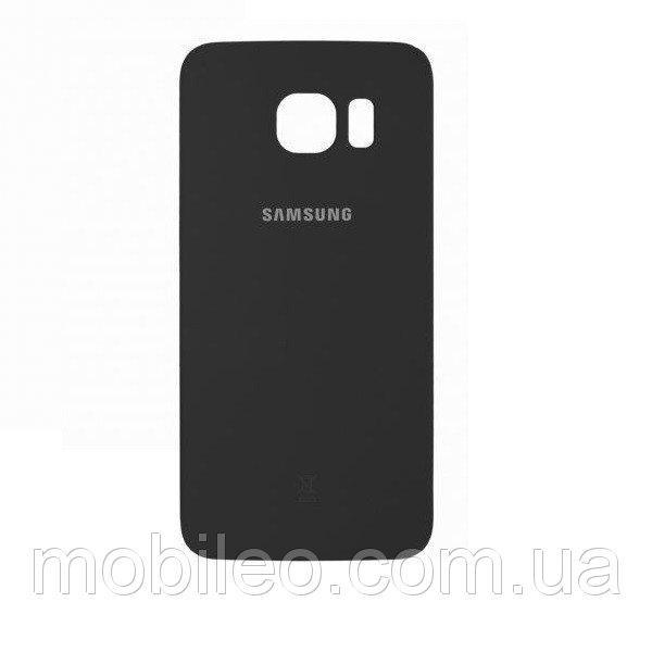 Задняя крышка Samsung G925 Galaxy S6 Edge, чёрная