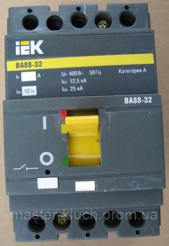 Автоматический выключатель IEK 3Р 100А