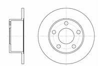 Тормозной диск задний AUDI 100(-1997г),A6 (-05г), SKODA SUPERB,VW PASSAT B5,пр-во ABE C4A003ABE, фото 1