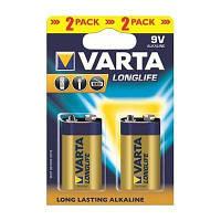 Varta Батарейка Longlife Krona/6LR61 BL 2шт