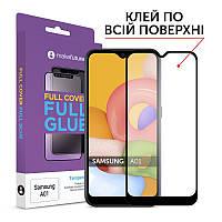 MakeFuture Защитное стекло для Samsung Galaxy A01 SM-A015 Full Cover Full Glue, 0.33 mm (MGF-SA01)