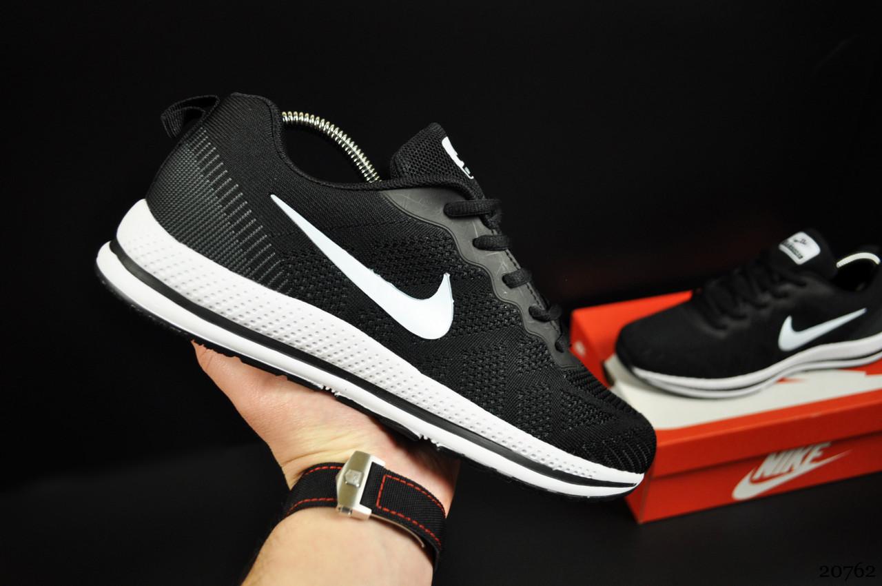 Кроссовки Nike Sport Zoom арт 20762 (мужские, черные, найк)