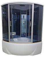 Гидробокс Atlantis 135х135 глубокий поддон, тонированное стекло, AKL 1317 (GR)