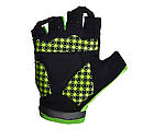 Перчатки велосипедные без пальцев 5284 B Зелені M, фото 3