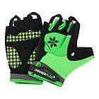 Перчатки велосипедные без пальцев 5284 B Зелені M, фото 4