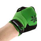 Перчатки велосипедные без пальцев 5284 B Зелені M, фото 5