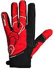 Велоперчатки без пальцев С Червоні XXL, фото 2