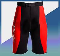 Шорты для похудения 4304 Червоно-Чорні L/XL