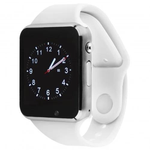 """Умные часы-телефон 1.54"""" с камерой Smart Watch Z6S (белые)"""