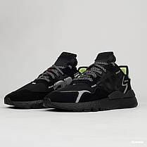 Мужские кроссовки Adidas Nite Jogger x 3M Black EE5884, Адидас Найт Джогер, фото 2