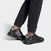 Мужские кроссовки Adidas Nite Jogger x 3M Black EE5884, Адидас Найт Джогер, фото 3