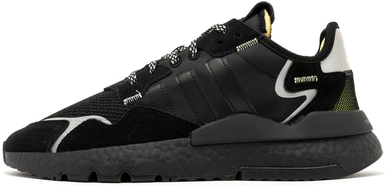 Мужские кроссовки Adidas Nite Jogger x 3M Black EE5884, Адидас Найт Джогер
