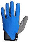 Велоперчатки без пальцев Сині M, фото 2