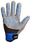 Велоперчатки без пальцев Сині M, фото 3