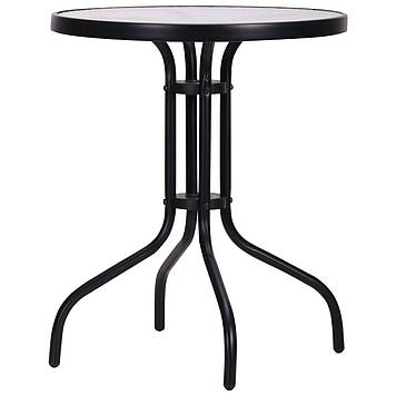 Стол Rico черный, стекло