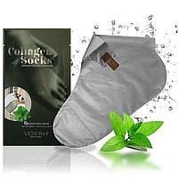 Коллагеновые носки VOESH Collagen  травяной экстракт