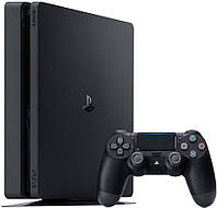 Стационарная игровая приставка Sony PlayStation 4 Slim (PS4 Slim) 1TB Black, фото 1