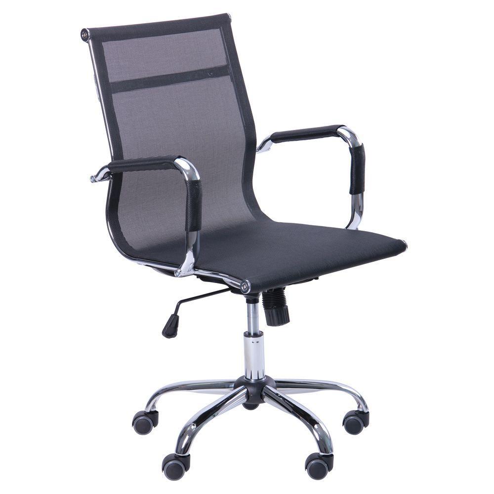 Кресло Slim Net LB (XH-633B) черный