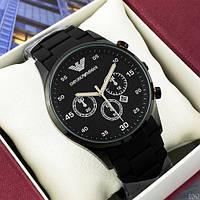 Emporio Armani Silicone 068 All Black