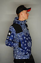 Куртка Supreme x The North Face Bandana Blue, фото 3