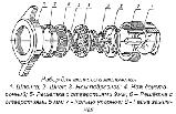 Комплект ножей и решеток для мясорубки МИМ 300 (Беларусь), фото 8