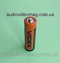 Батарейка VIDEX R6 АА 1.5V солевая пальчиковая