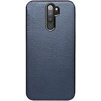 Чехол Xiaomi кожаный Epic Vivi series для Xiaomi Redmi Note 8 Pro Синий