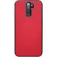 Чехол Xiaomi кожаный Epic Vivi series для Xiaomi Redmi Note 8 Pro Красный