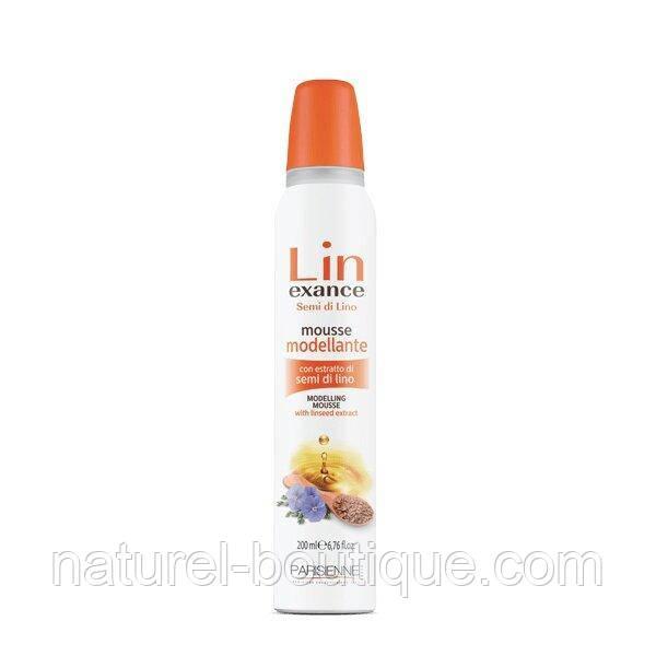 Мус для волосся Parisienne Lin Exance Semi di Lino з маслом льону