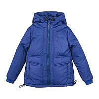 Куртка осіння хлопчик синя
