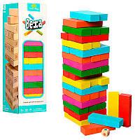 Деревянная игра Падающая башня MD1210