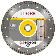 Алмазный диск BOSCH Professional for Universal Turbo 230х22,23 (2608602397)