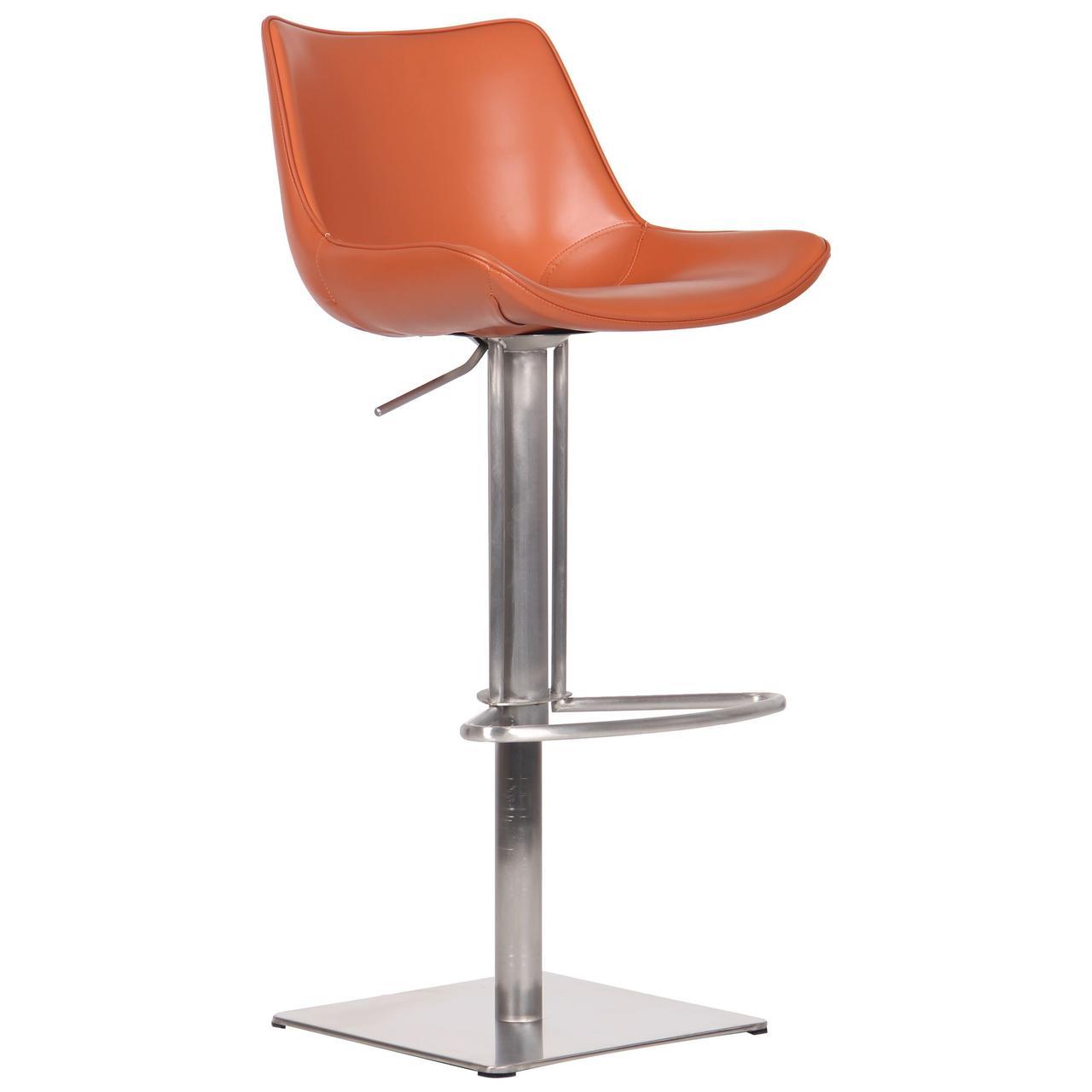 Барный стул Carner, caramel leather