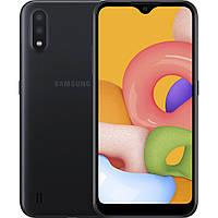 Мобильный телефон Samsung SM-A015FZ (Galaxy A01 2/16Gb) Black (SM-A015FZKDSEK)